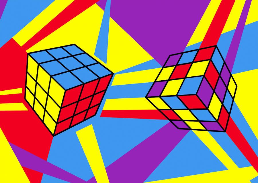 Rubik's cube by Lena-GoodForNothing