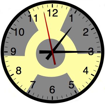nukuler clock by bbobman