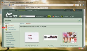 Windows 7 Firefox Theme by countedfor