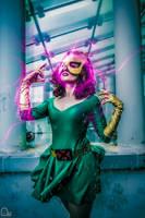 Marvel Girl and telekinesis by Evejo