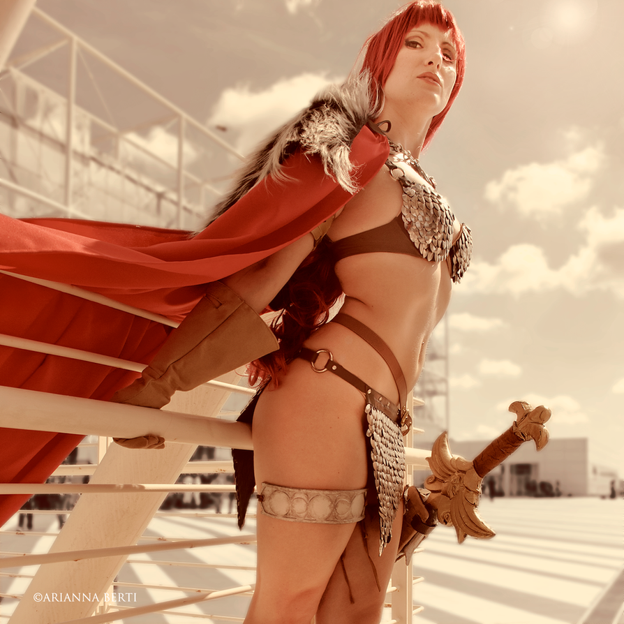 Red sonja nude naked clip