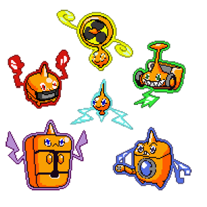 Rotom All-Form by Marzarret