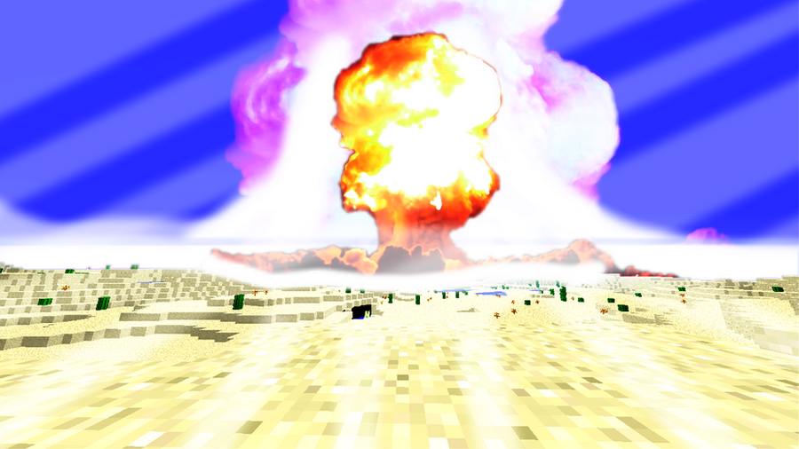how to create a nuke in minecarft