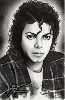 Michael Jackson portrait by AnimaEterna