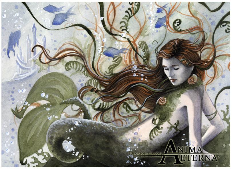 The little mermaid by AnimaEterna