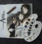 Anakin - Padme - Luke - Leia - WIP