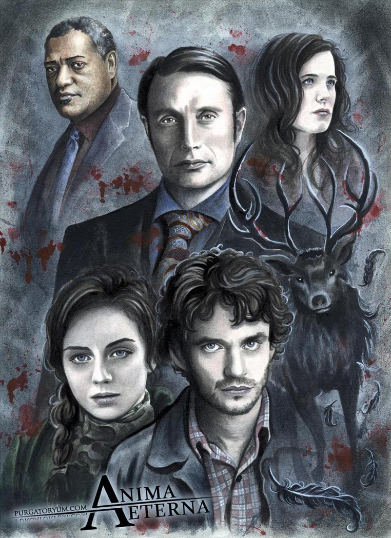 Hannibal Fan Art by AnimaEterna