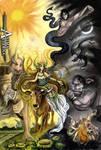Commissioned Painting - Mythology