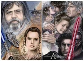 Star Wars Episode VII: The Force Awakens by AnimaEterna