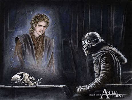 Commissioned Painting - Kylo Ren-Anakin Skywalker