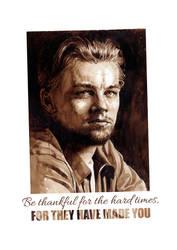 Poster Leonardo DiCaprio by maximvs