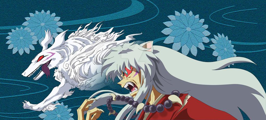 Youkai Inuyasha by house-mouse on DeviantArt Inuyasha Full Demon Form Dog Episode