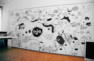 Studio Pats Mural by stingerstyler