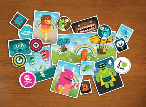 Stickerset Collage