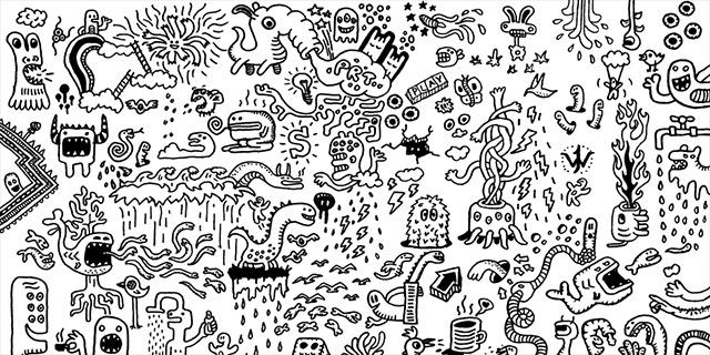 Doodle World by stingerstyler