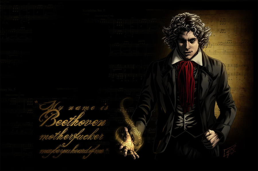 Nicepeter Beethoven By Puffypuffy On Deviantart