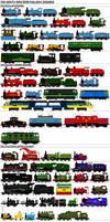North Western Railway Engines (My Universe) MkII