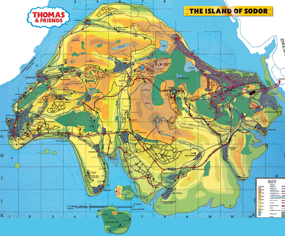 the engines of hatt the mappings of sodor island by