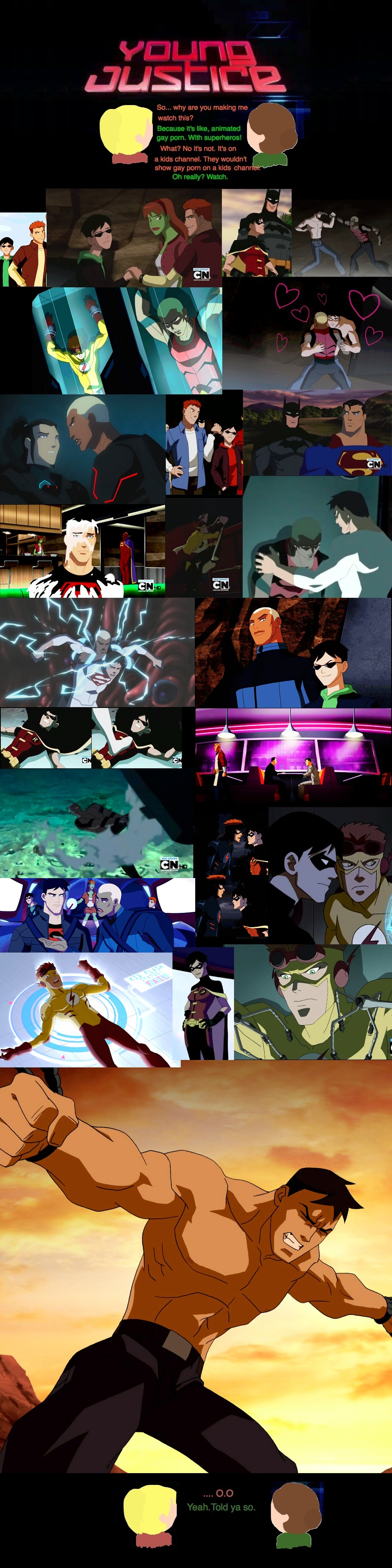 Young Justice is Porn :D by SuperheroObsessed