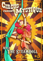 - SteamDoll Nikla_Circus manifest - by CircusDiabolique