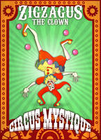 - Zigzagus the clown_Circus Manifest - by CircusDiabolique