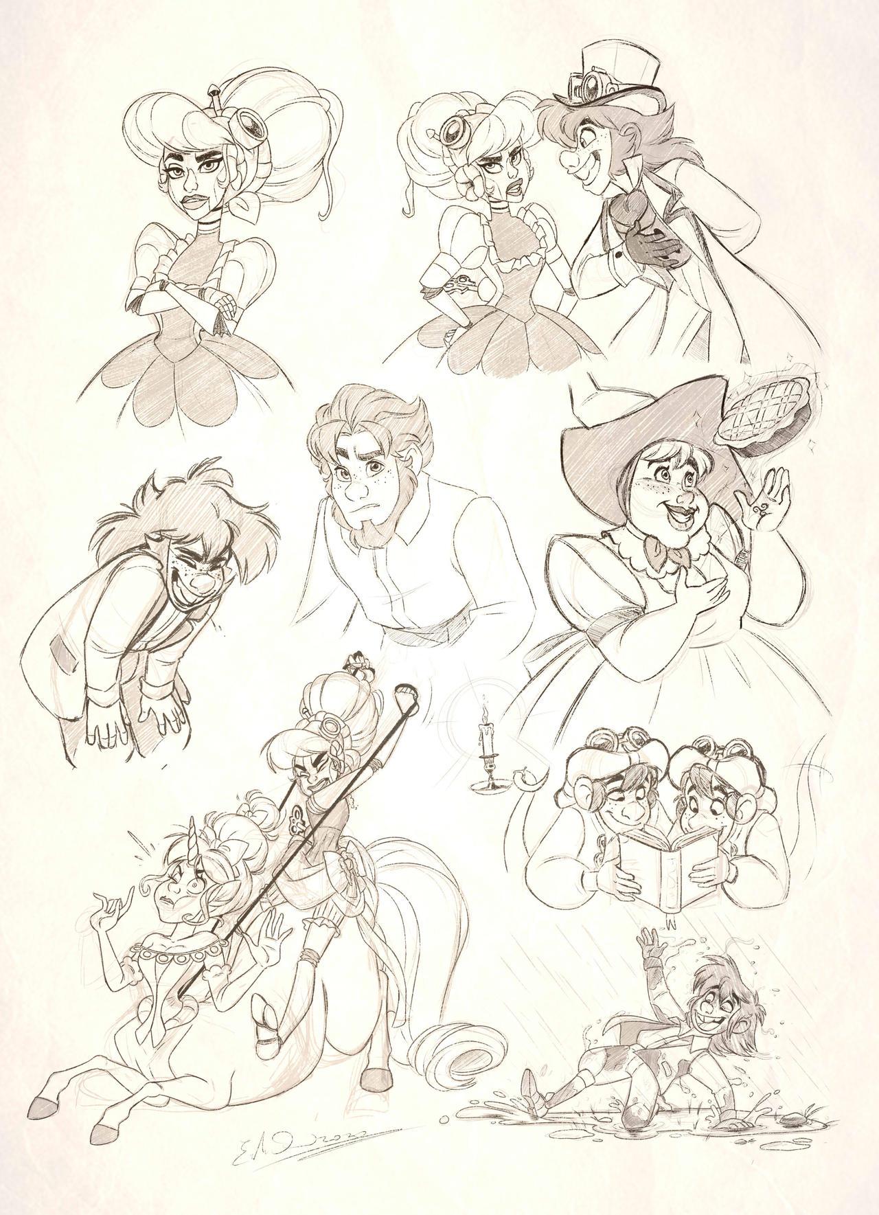 - Circus Diabolique_Sketchdump 001 -