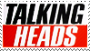Stamp: Talking Heads