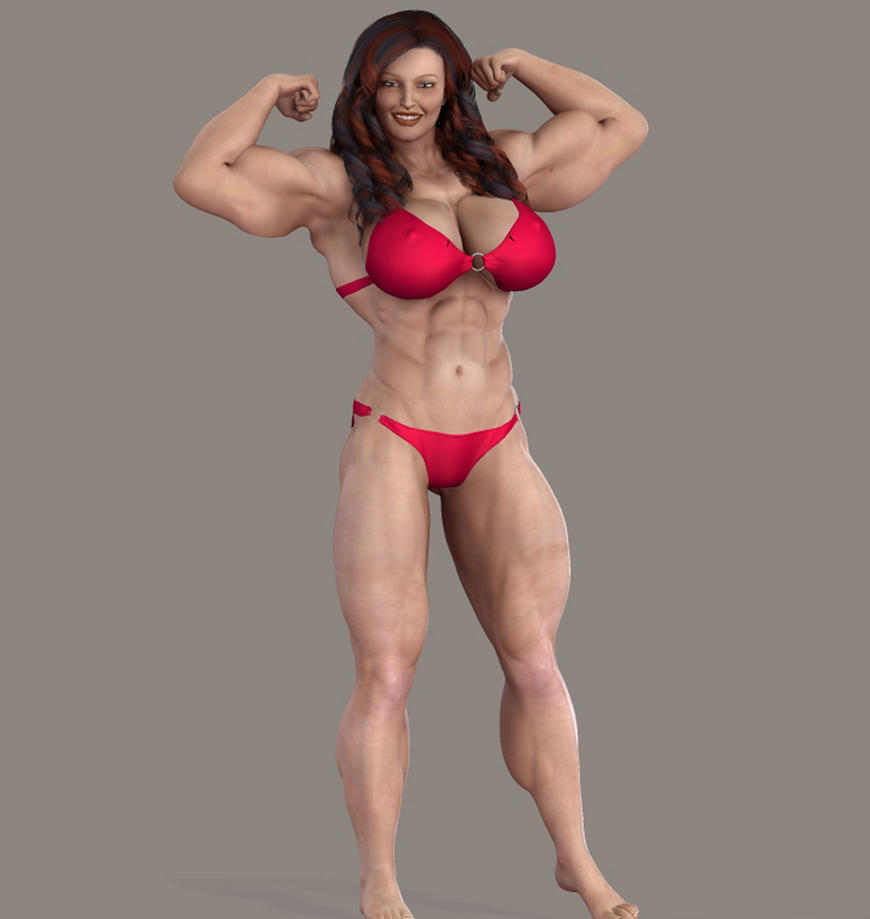 Dickgirl muscle 3d erotic toons
