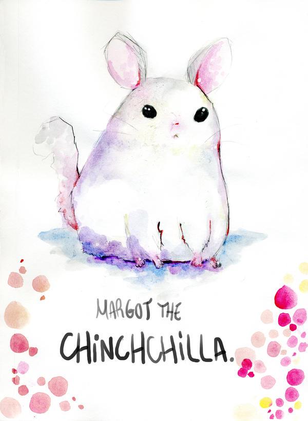 chillin chinchilla. by MiniMushroom