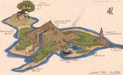 Lone Tree Island by Svenly