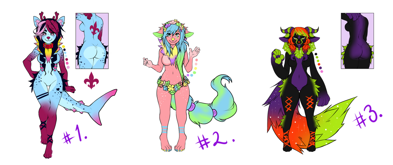 Adoptables OTA (CLOSED) by Derphound