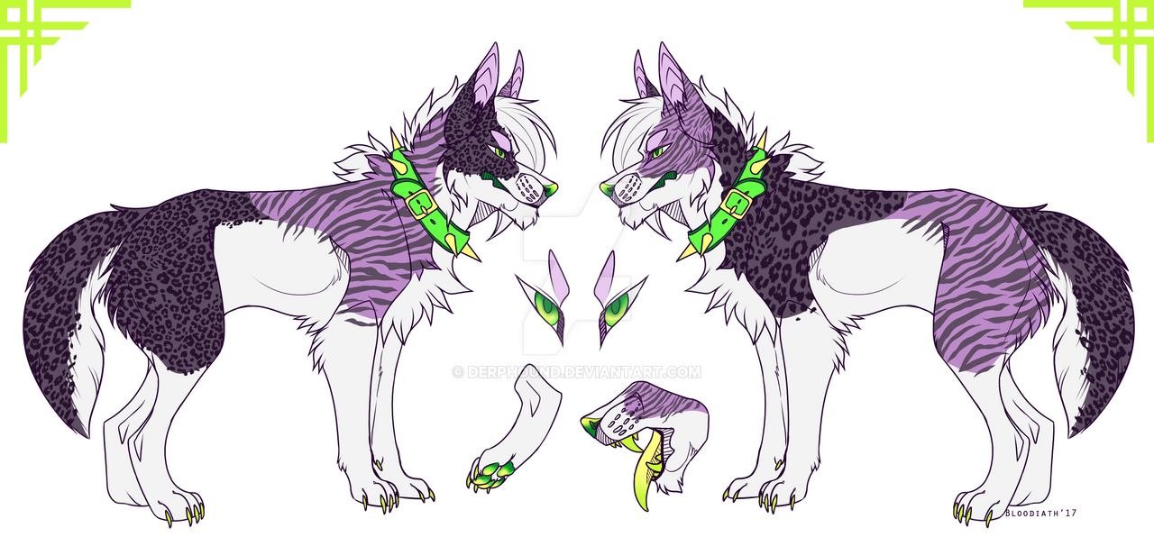 Zare reference sheet by Derphound