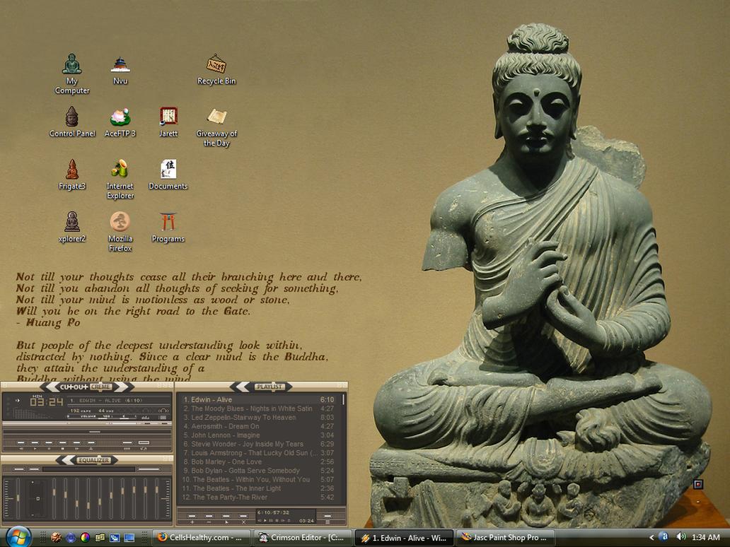 Buddha Desktop Screenshot by buddhascii