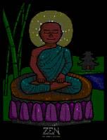 Zen Bliss by buddhascii