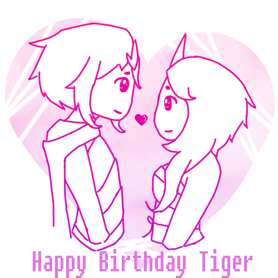 Happy Birthday Tiger by rayne-storme