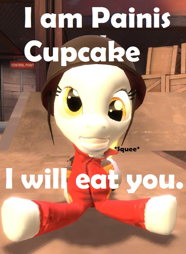 Painis Cupcake Derpy by Soad24k on DeviantArt I Am Painis Cupcake I Will Eat You