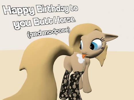 Butt horse Birthday