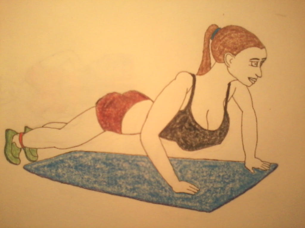 Barbara exercising by aajjww121