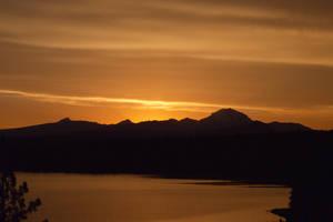 Mt Lassen Sunset