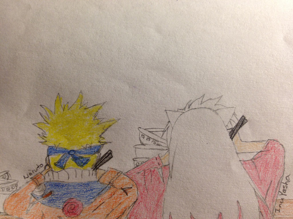 naruto eating ramen coloring pages - photo#23