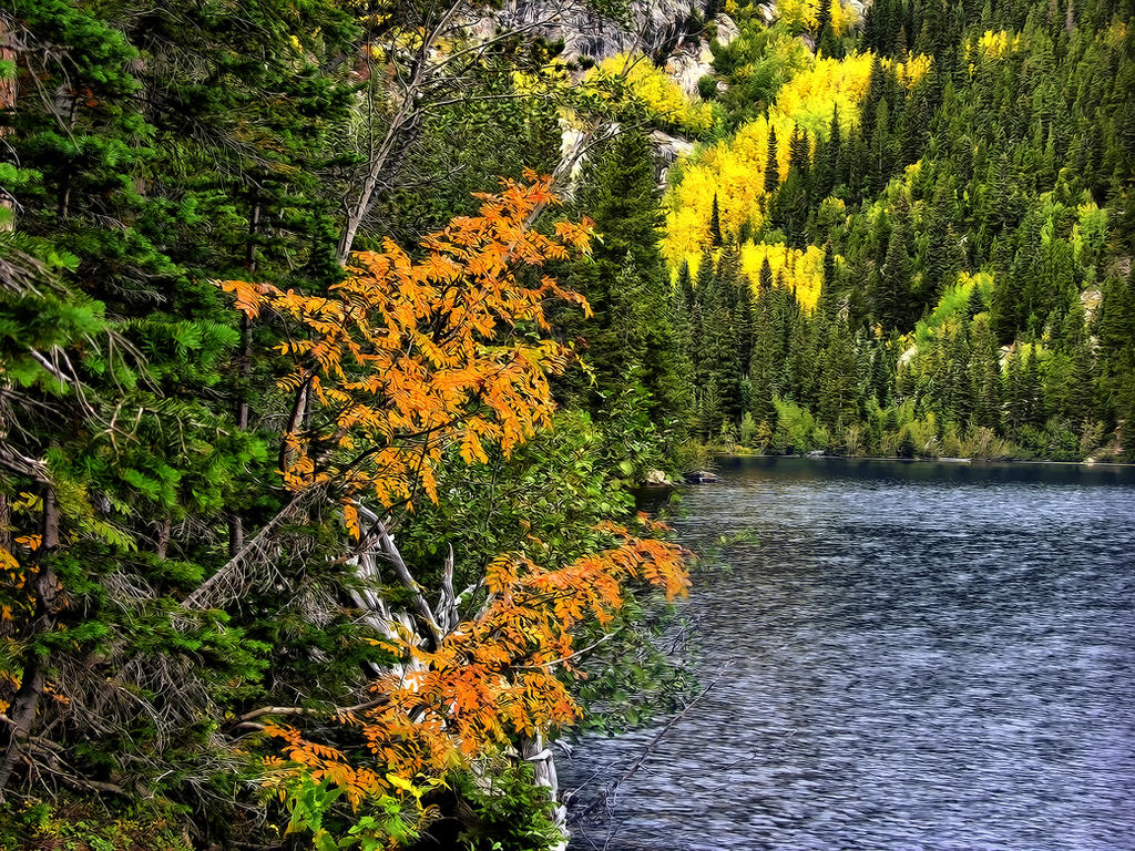 Fall, Bear Lake, Colorado by DFWHDR