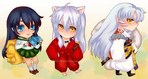 Inuyasha: Chibi Set