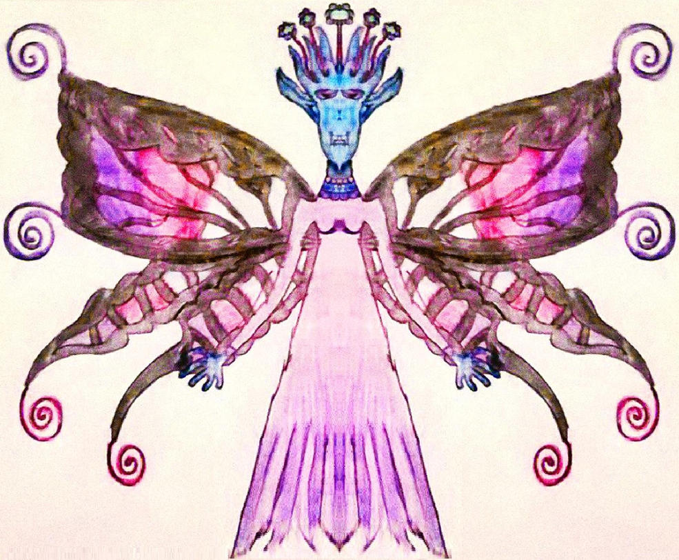 Divona the outcasted fairy by Alisterlebeau