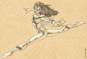 Spider-Woman by dichiara