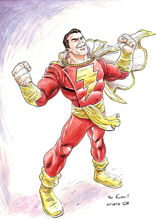 Captain Marvel for Evan by dichiara