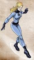 Sketching Invisible Woman