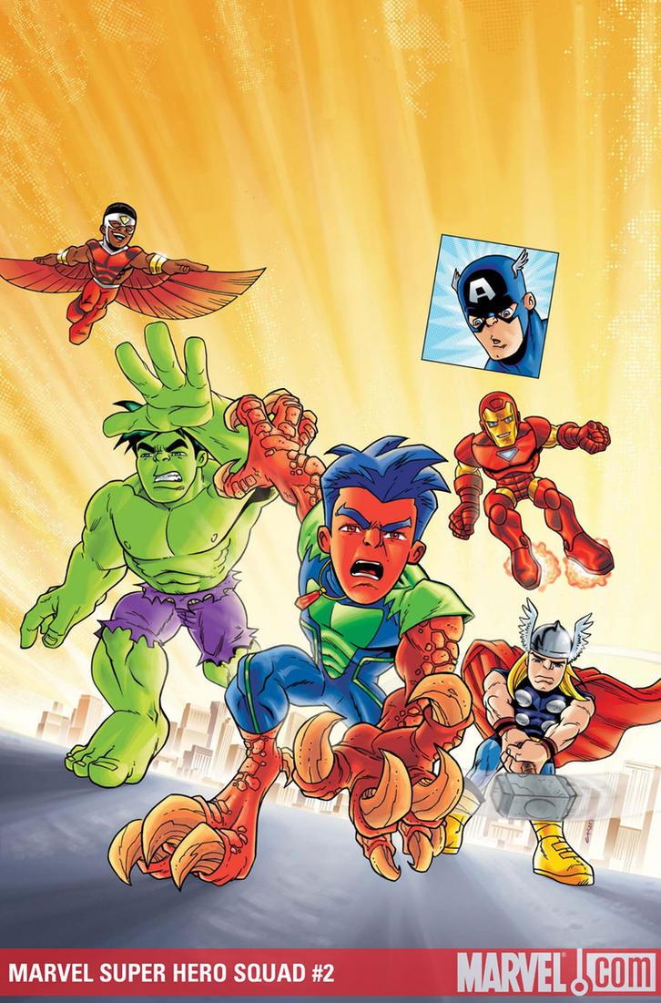 Super Hero Squad 02 by dichiara
