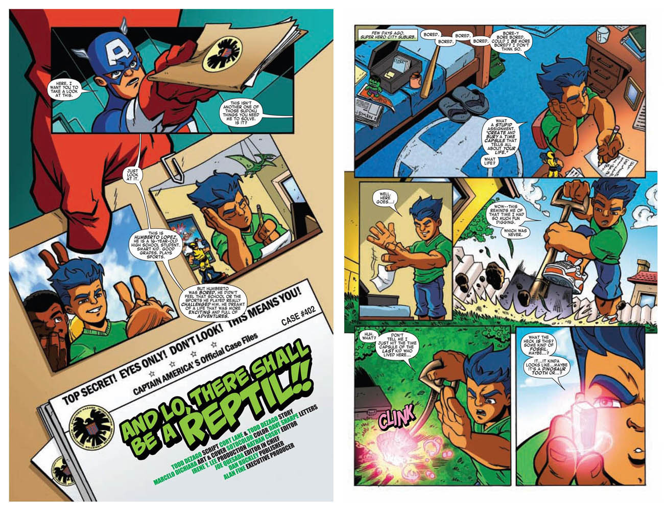 Super Hero Squad pgs. 1 and 2 by dichiara
