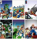 Super Hero Squad - Title Cards