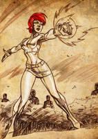 Marvel Girl - Rachel Summers by dichiara